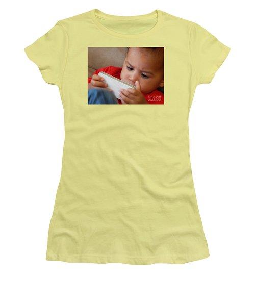 The Power Of Internet Women's T-Shirt (Junior Cut) by Beto Machado