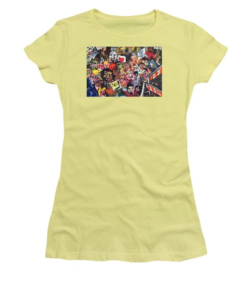 The Protest  Women's T-Shirt (Junior Cut) by Jame Hayes