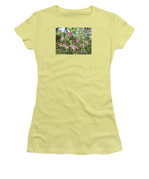 The Quality Of Your Thoughts Women's T-Shirt (Junior Cut) by Deborah Dendler