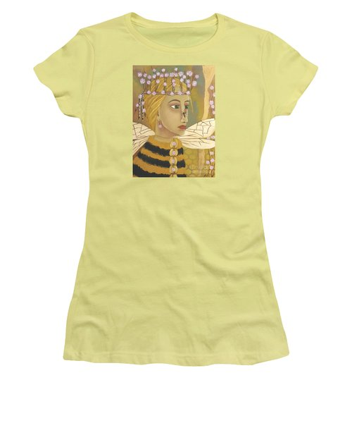 The Queen Bee's Honeycomb Women's T-Shirt (Athletic Fit)