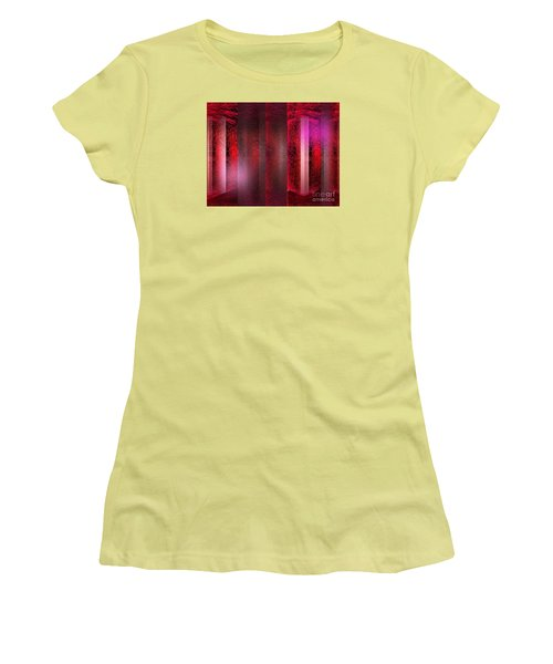 The Red Room Women's T-Shirt (Athletic Fit)