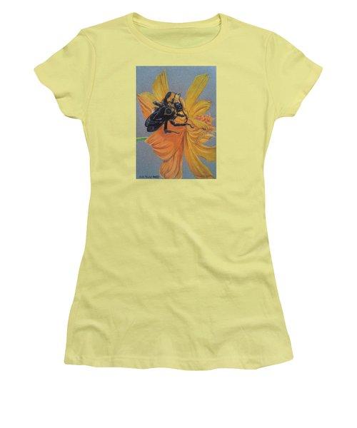 The Resting Place Women's T-Shirt (Junior Cut) by Anita Putman