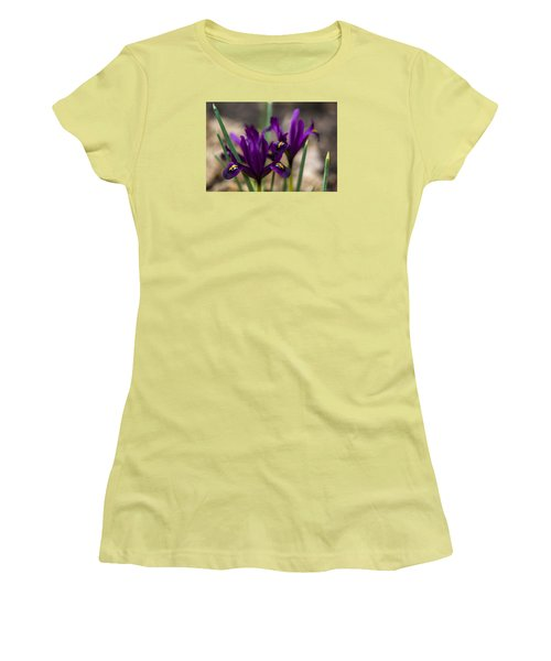 The Rise Of The Early Royal Dwarf Iris Women's T-Shirt (Athletic Fit)