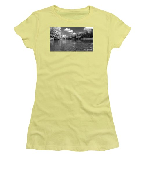 The Rivers Bend  Women's T-Shirt (Junior Cut) by Scott D Van Osdol