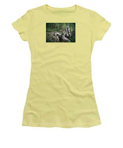 Women's T-Shirt (Junior Cut) featuring the photograph The Root by Gary Smith