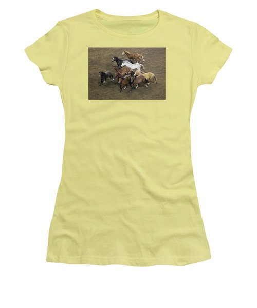 The Roundup Women's T-Shirt (Athletic Fit)