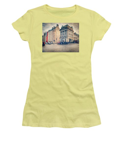 The Royal Mile Women's T-Shirt (Junior Cut) by Ray Devlin