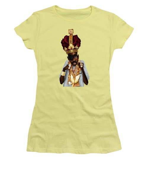 The Rula Women's T-Shirt (Junior Cut) by Nelson Dedos Garcia