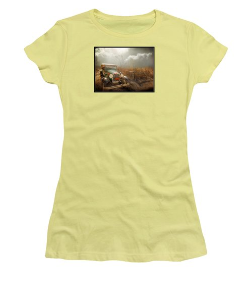 The Rural Route Women's T-Shirt (Athletic Fit)