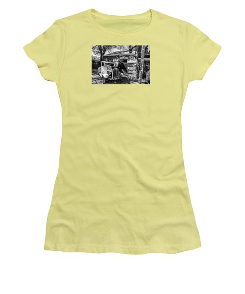 The Rusty Bolt Women's T-Shirt (Junior Cut) by Anthony Sacco