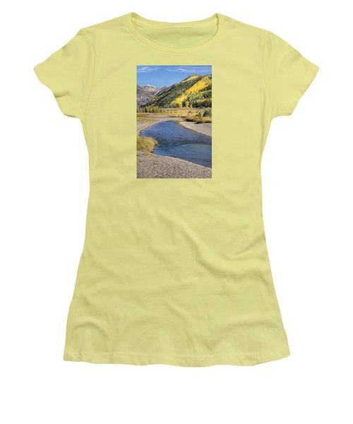 The San Miguel In Autumn Women's T-Shirt (Athletic Fit)