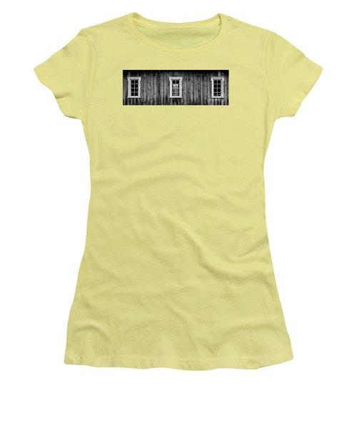Women's T-Shirt (Junior Cut) featuring the photograph The School House by Brad Allen Fine Art