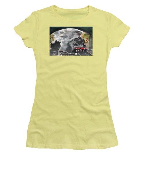 The Scotsman Women's T-Shirt (Junior Cut) by Carole Robins