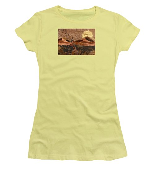 The Scream Of A Butterfly Women's T-Shirt (Junior Cut)