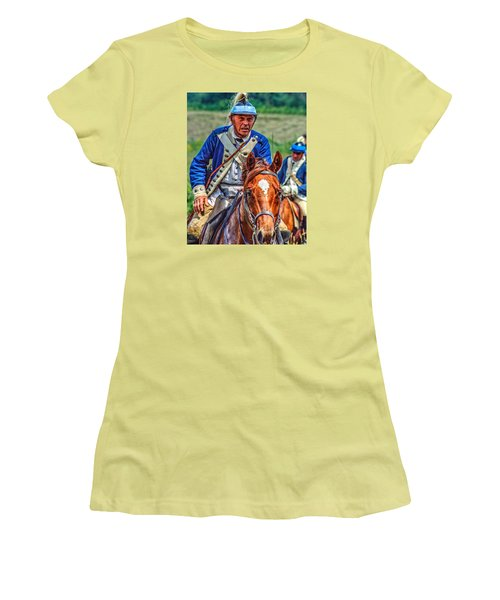 The Second Regiment Light Dragoons 004 Women's T-Shirt (Athletic Fit)