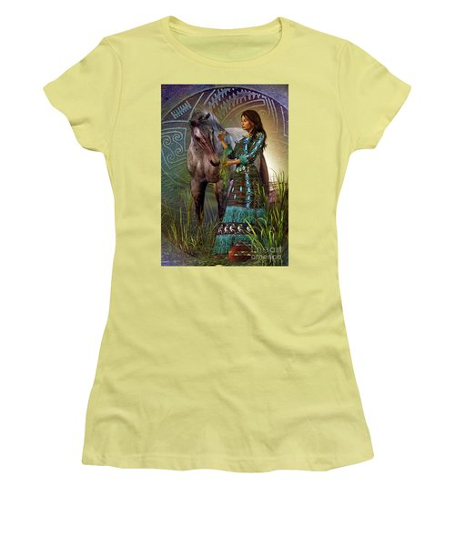 The Horse Whisperer Women's T-Shirt (Junior Cut) by Shadowlea Is