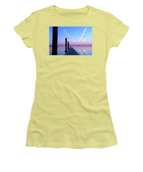 The Silent Man Women's T-Shirt (Junior Cut) by Thierry Bouriat