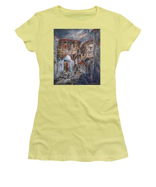 The Silent Street Iv Women's T-Shirt (Athletic Fit)