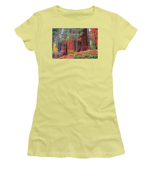 The Small And The Mighty Women's T-Shirt (Junior Cut) by Lynn Bauer
