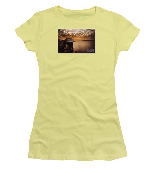 The Spartan Women's T-Shirt (Junior Cut) by Randall  Cogle