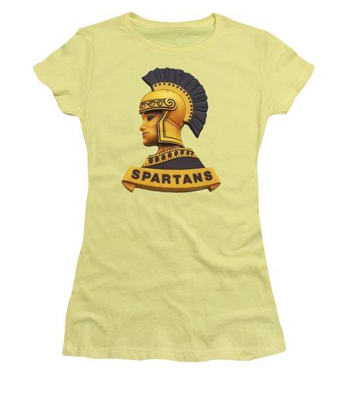 The Spartans Women's T-Shirt (Junior Cut) by Mark Dodd
