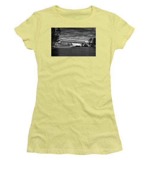 The Spill Women's T-Shirt (Junior Cut) by Mark Lucey