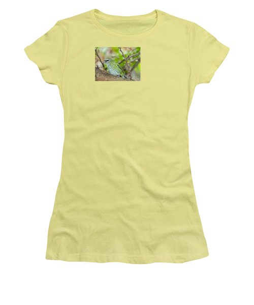 Women's T-Shirt (Junior Cut) featuring the photograph The Spotted Tanager by Judy Kay