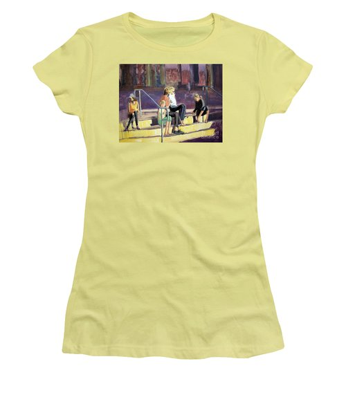 The Steppes Women's T-Shirt (Athletic Fit)