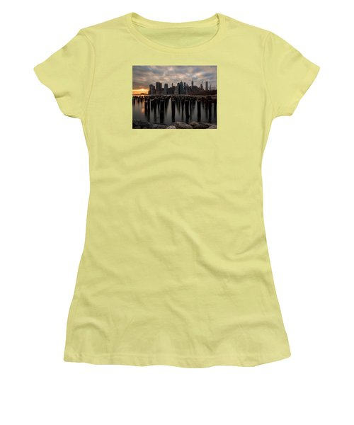 Women's T-Shirt (Junior Cut) featuring the photograph The Sticks by Anthony Fields