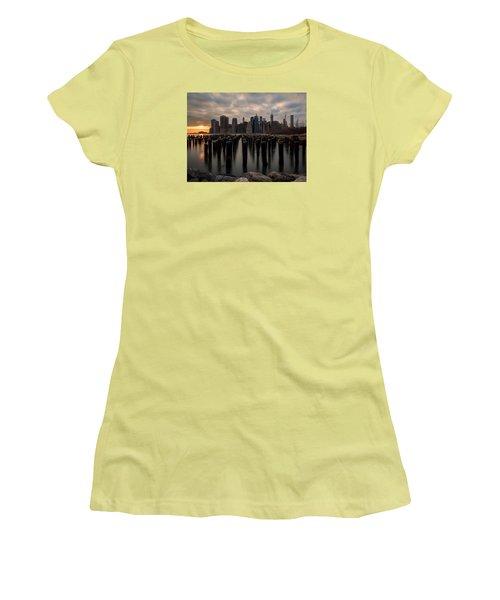 The Sticks Women's T-Shirt (Junior Cut) by Anthony Fields