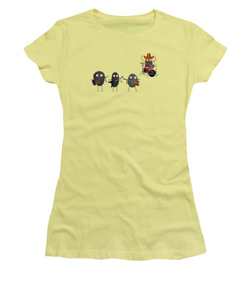 Women's T-Shirt (Junior Cut) featuring the digital art The Stones by David Dehner