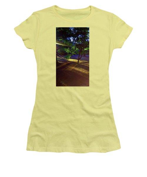 The Sunset Grove  Women's T-Shirt (Junior Cut) by Karl Reid