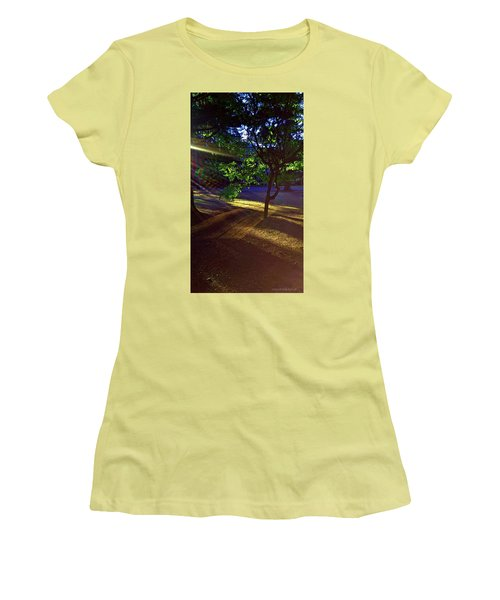 The Sunset Grove  Women's T-Shirt (Athletic Fit)