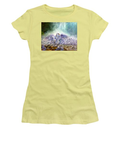 The Swan's Song Women's T-Shirt (Athletic Fit)