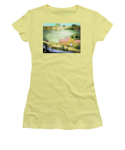 The Tavern Women's T-Shirt (Athletic Fit)