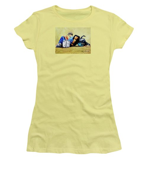 The Traveler 2 - El Viajero 2 Women's T-Shirt (Athletic Fit)
