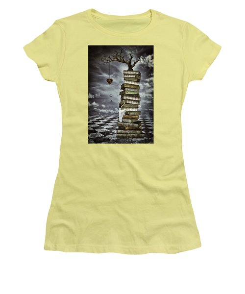 The Tree Of Love Women's T-Shirt (Athletic Fit)