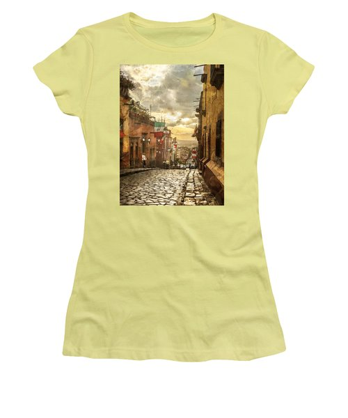 The View Looking Down Women's T-Shirt (Athletic Fit)