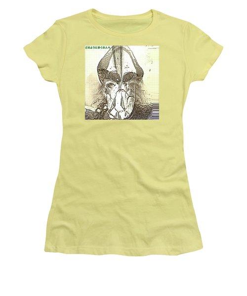 The Visionary Women's T-Shirt (Junior Cut) by Tobeimean Peter