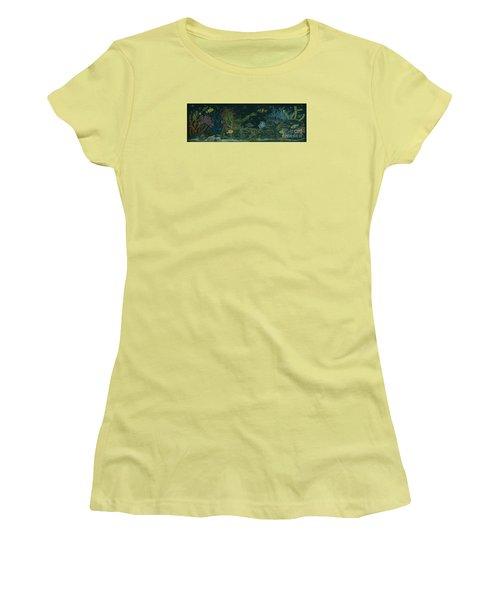 The Visitor Women's T-Shirt (Junior Cut) by Dawn Fairies
