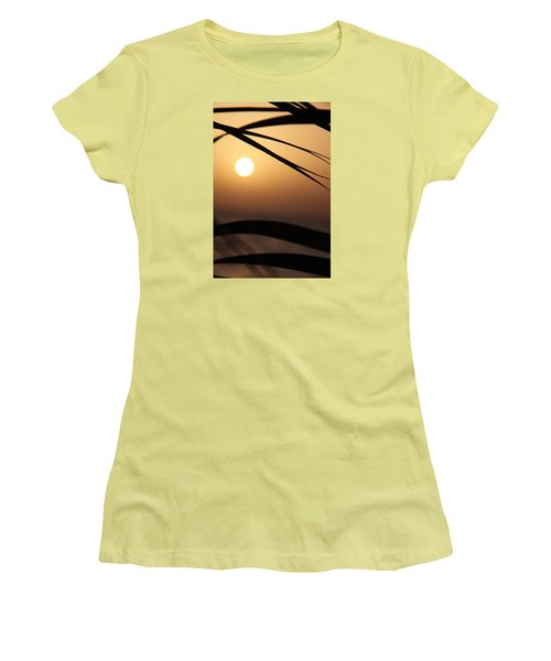 Women's T-Shirt (Junior Cut) featuring the photograph the way I lean by Jez C Self