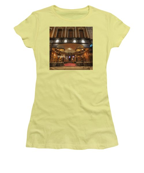 Women's T-Shirt (Junior Cut) featuring the photograph The Well by Nicholas Grunas