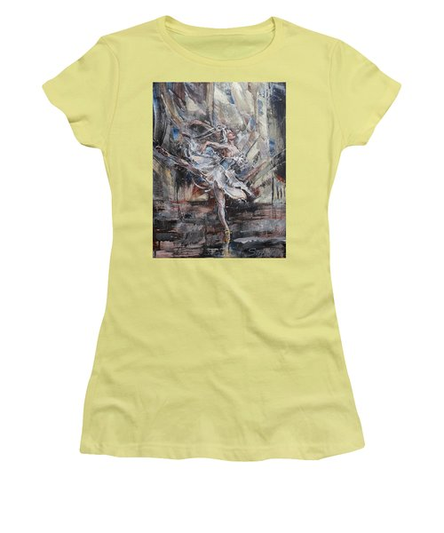 The White Swan Women's T-Shirt (Athletic Fit)
