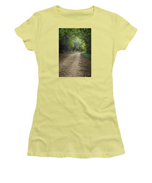 The Winding Path Women's T-Shirt (Junior Cut)