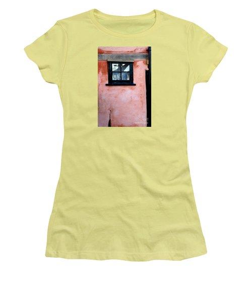 The Window Women's T-Shirt (Junior Cut) by Gary Bridger