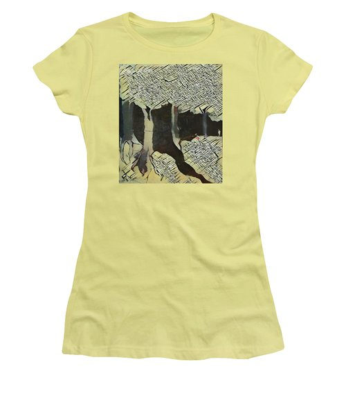 The Woods Are Lovely Women's T-Shirt (Athletic Fit)