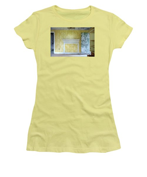 The Yellow Room No.3 Women's T-Shirt (Athletic Fit)