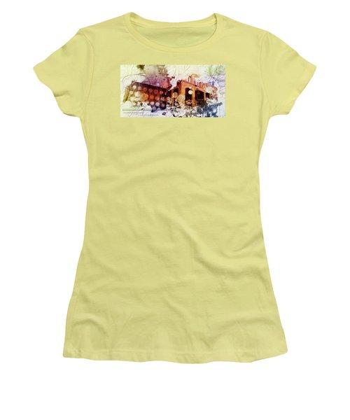 Them Olden Days Women's T-Shirt (Junior Cut) by Deborah Nakano