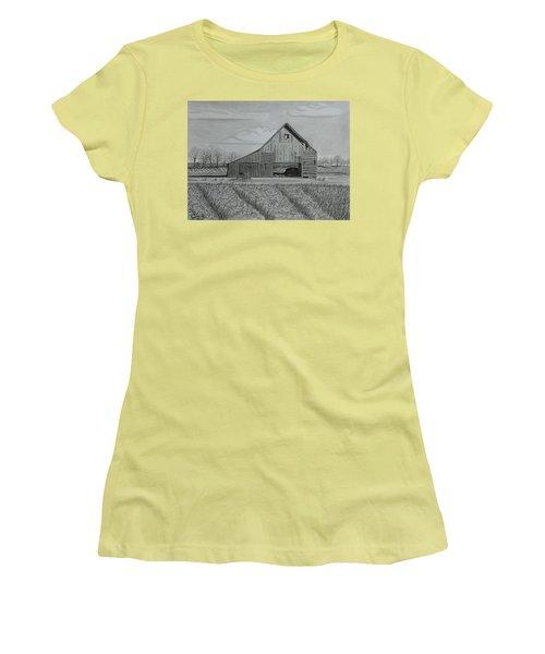 Theresa's Barn Women's T-Shirt (Junior Cut) by Tony Clark