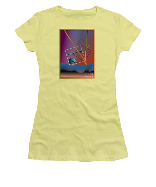 Thinking About The Future Women's T-Shirt (Athletic Fit)